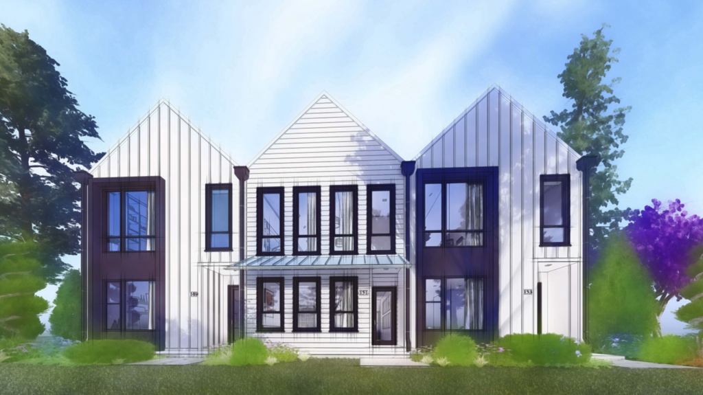 New construction homes within walking distance of Woodstock, GA